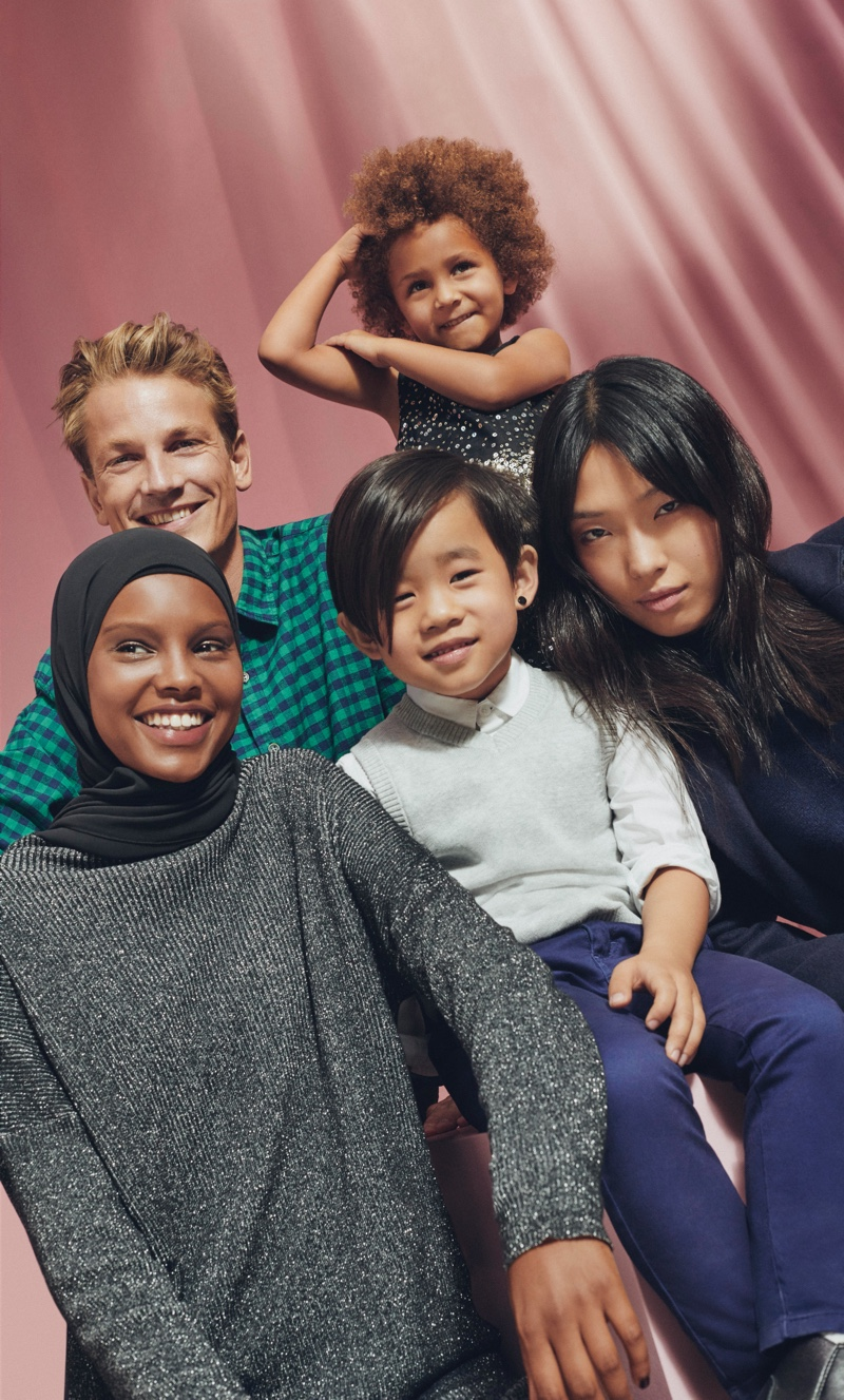 Esprit unveils its holiday 2019 campaign.
