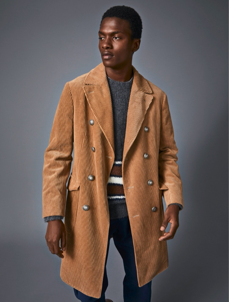 Matthew & Jubril Don Knits & Coats for Esquire