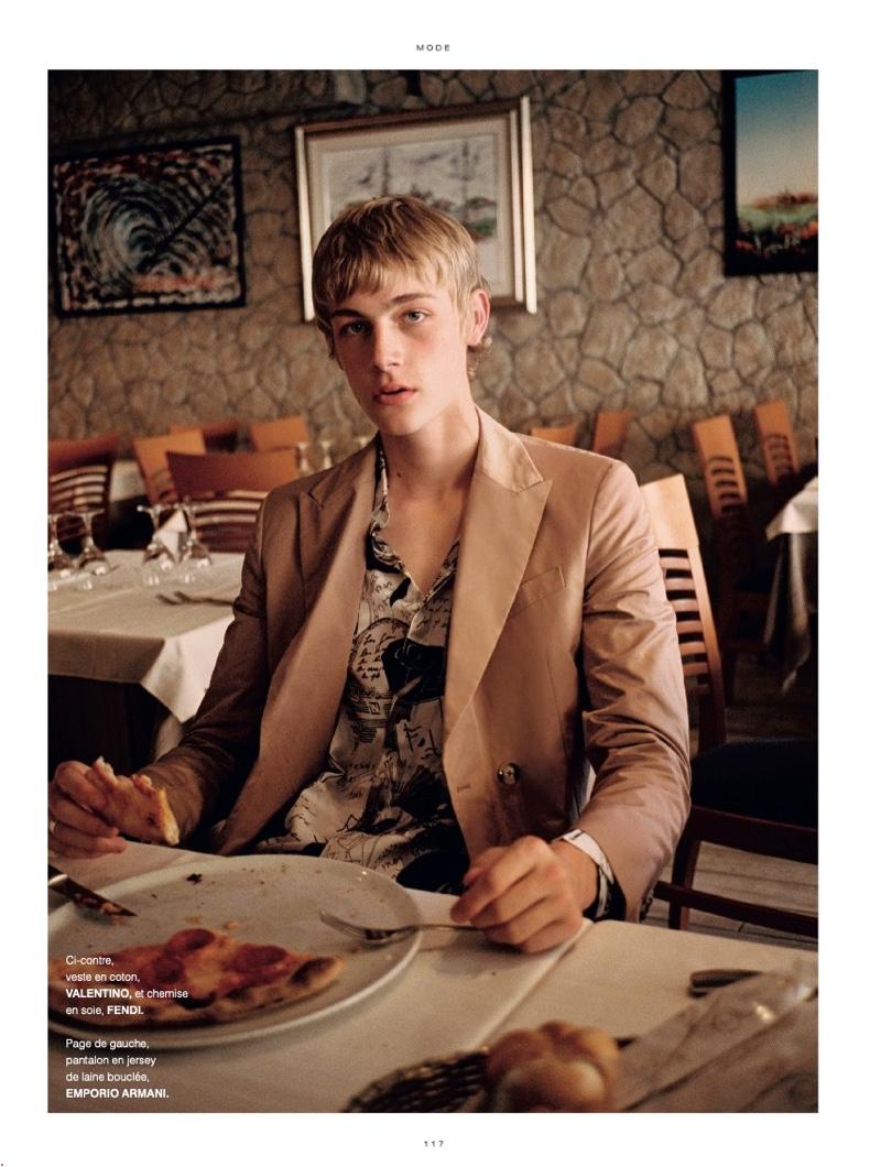 Felix Takes to Venice for L'Officiel Hommes Paris