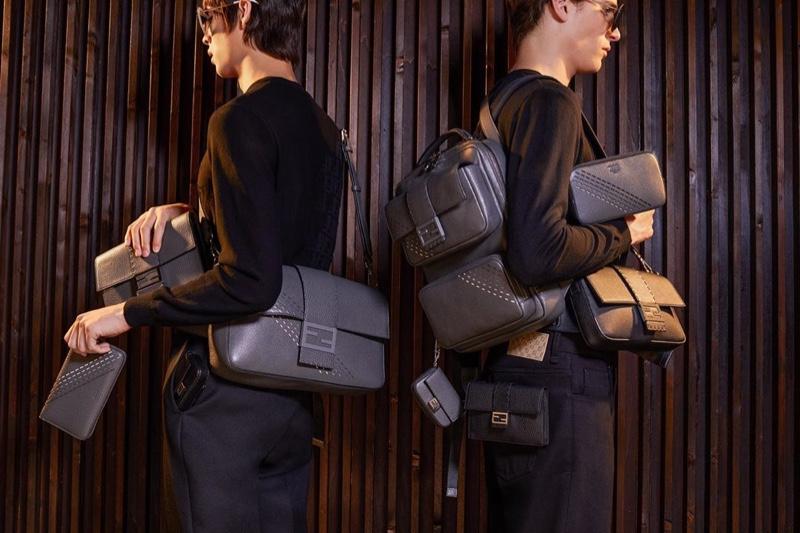 Fendi puts the spotlight on its resort 2020 Baguette bags.