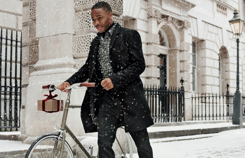 Soccer star Raheem Sterling connects with H&M for its holiday 2019 campaign.
