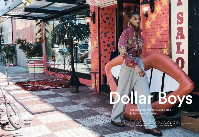 Dylan, Darius & Matthew Take to Brooklyn for ICON Magazine