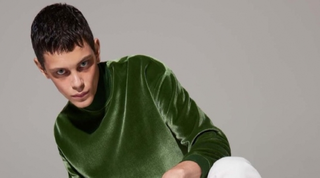 Ihor Liubchenko Hits the Studio for L'Officiel Hommes Poland