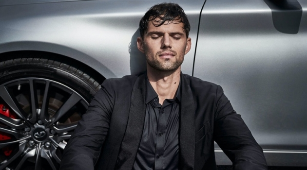 "Max Jablonsky stars in Infiniti's ""Luxury Should Be Lived In"" campaign."