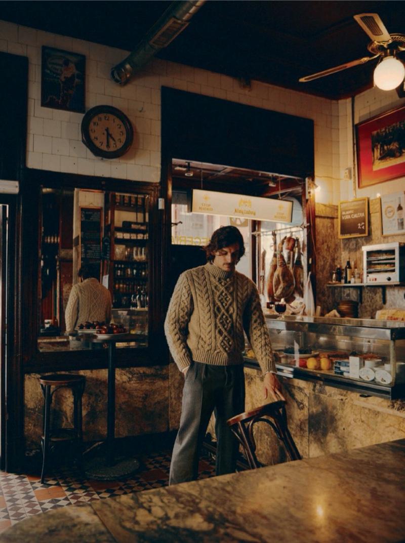 Jarrod Scott Explores Madrid with Esquire España