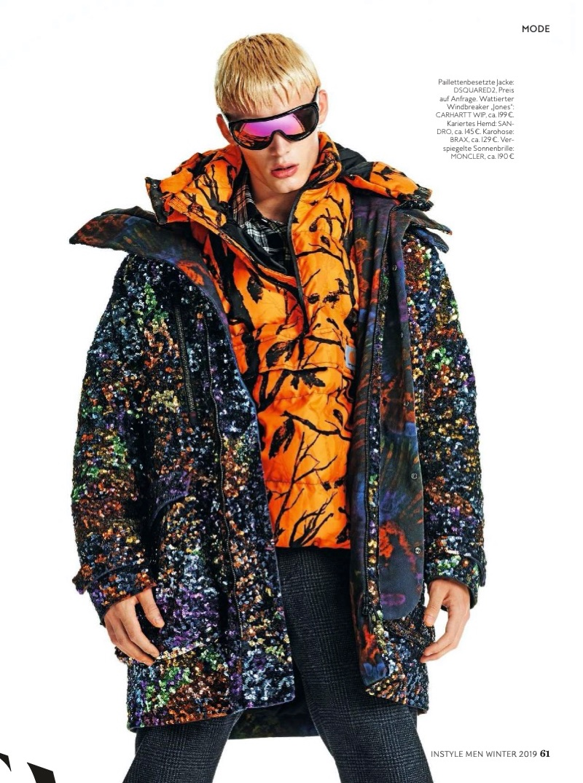João Knorr Rocks Colorful Looks for InStyle Men Germany