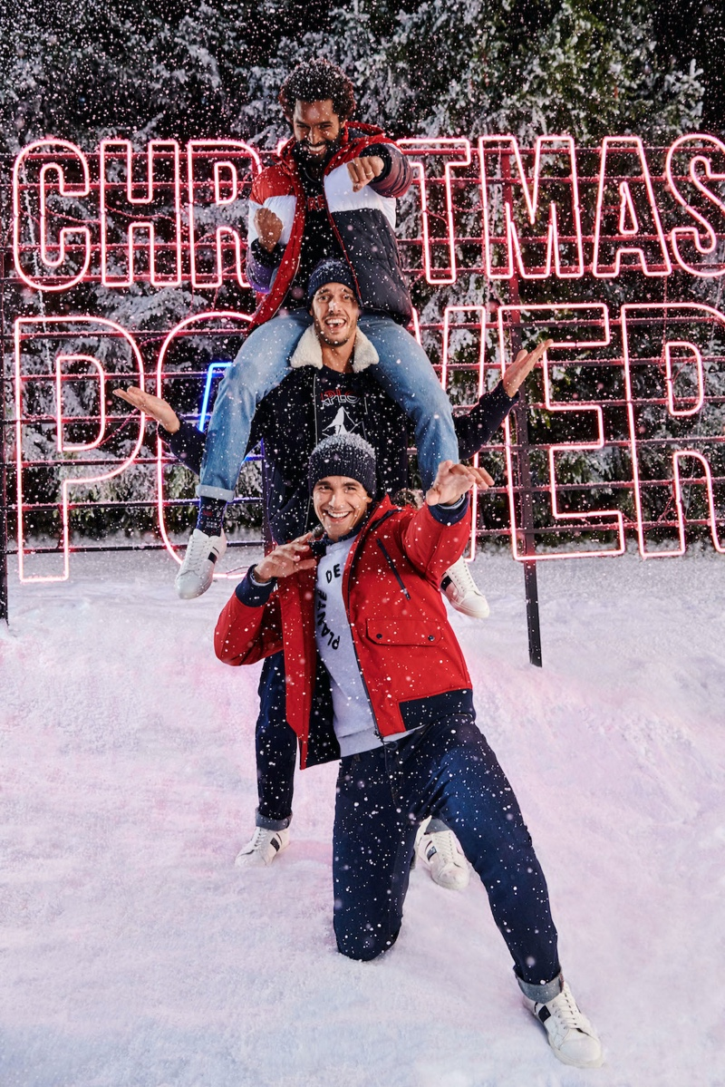Jules enlists Thiago Santos, Federico Cola, and Gonçalo Pinto as the stars of its Christmas 2019 campaign.