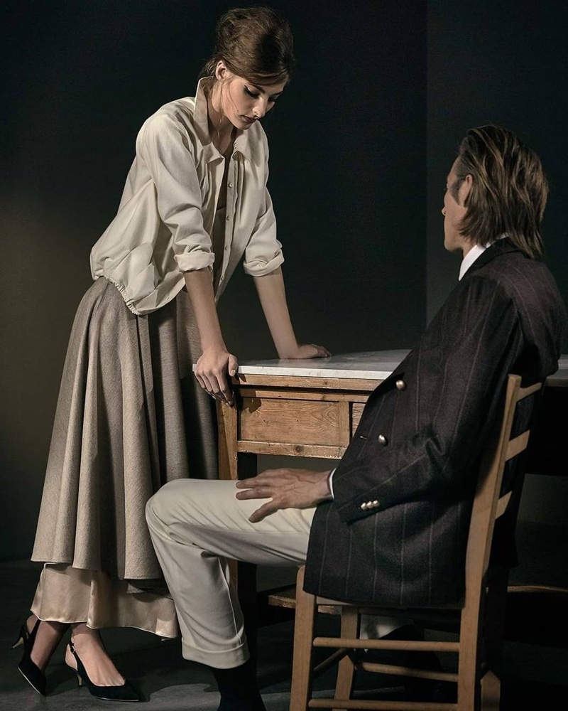 """Annie Tice and Joel Frampton come together for Lardini's """"Obsession."""""""