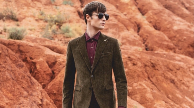 Laurie Harding Steps Up His Style Game for Gentleman España