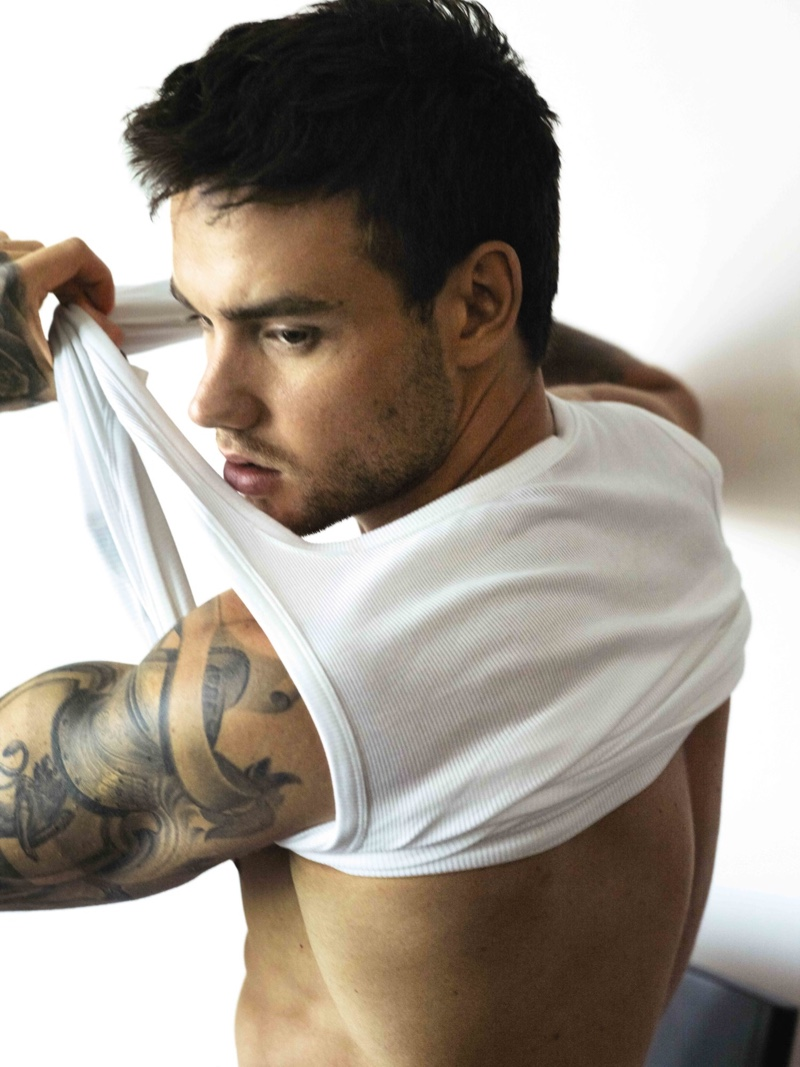 Reuniting with HUGO, Liam Payne stars in the brand's Bodywear campaign.