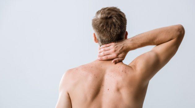 Man Shirtless Back Pain