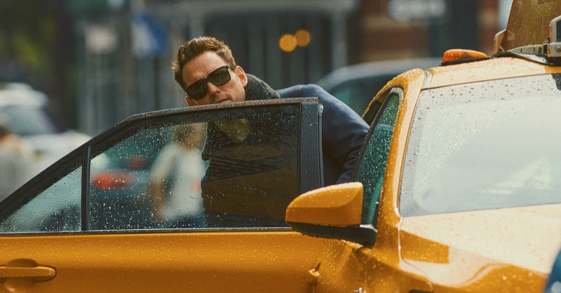 Sharing a New York City moment, Matt Dillon spends a day with Brioni.