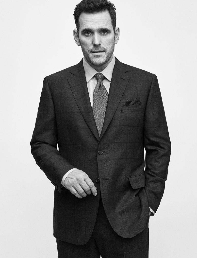 Matt Dillon fronts Brioni's fall-winter 2019 campaign.