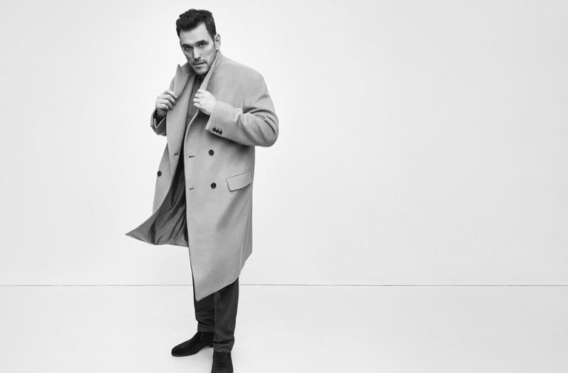 Hitting the studio, Matt Dillon fronts Brioni's fall-winter 2019 campaign.