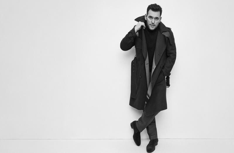 A cool vision, Matt Dillon stars in Brioni's fall-winter 2019 campaign.