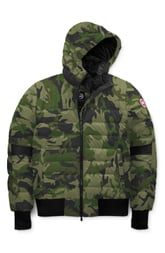 Men's Canada Goose Cabri Hooded Packable Down Jacket, Size Small - Green