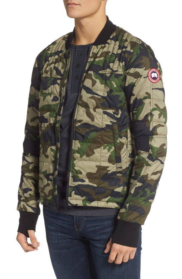 Men's Canada Goose Dunham Slim Fit Packable 625 Fill Power Down Jacket, Size Small - Green
