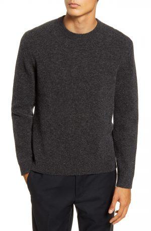 Men's Club Monaco Crewneck Sweater, Size Medium - Grey