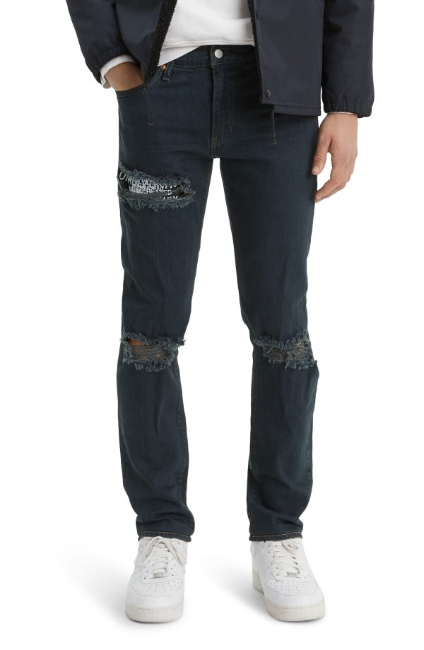 Men's Levi's 511(TM) Ripped Slim Fit Jeans, Size 29 x 32 - Blue