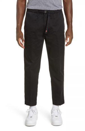 Men's Levi's Adjustable Belt Tapered Pants, Size Large - Black