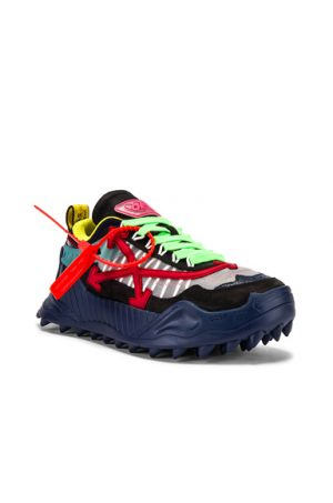 OFF-WHITE Odsy-1000 Sneaker in Black,Blue,Green,Red,Yellow