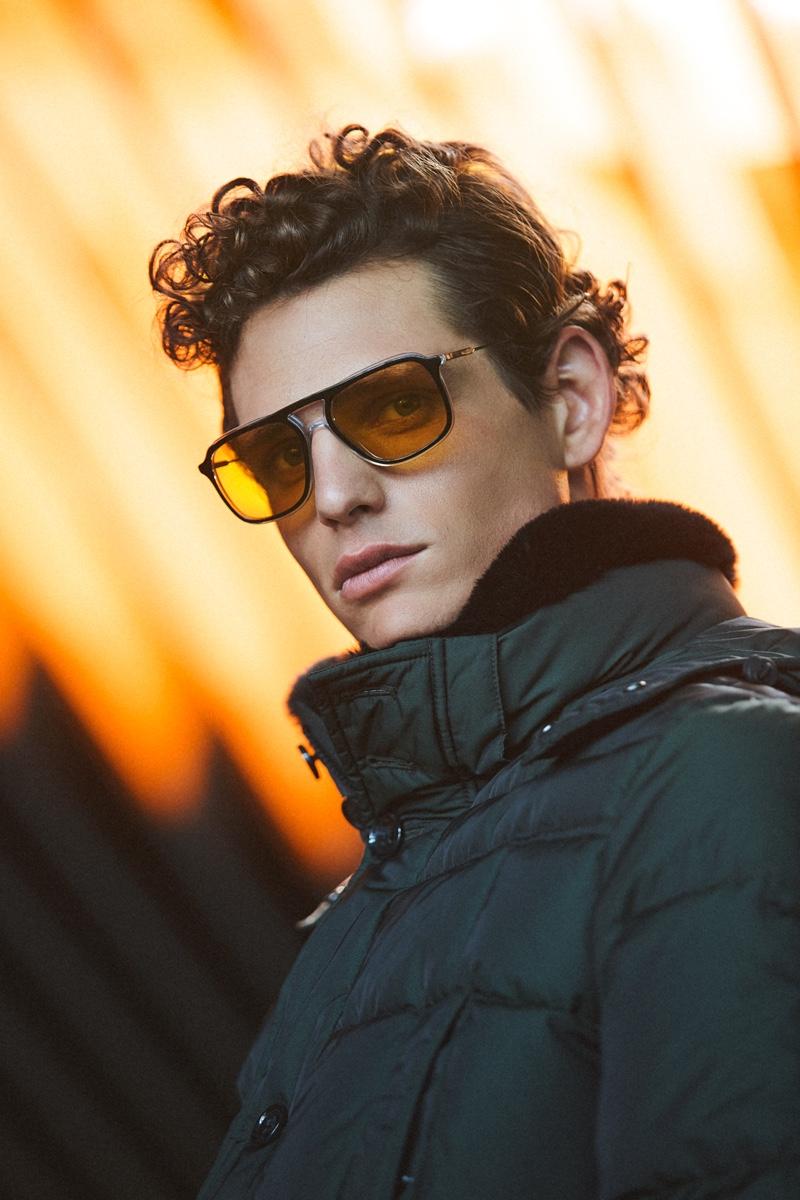 Pau Ramis Dons Modern Work Style for PORT Magazine
