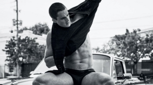 Brains & Brawn: Pietro Boselli for VMAN