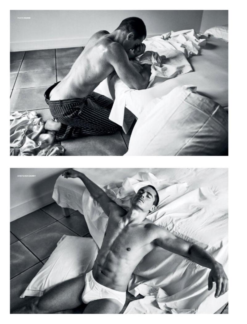 Brains & Brawn: Pietro Boselli for VMAN