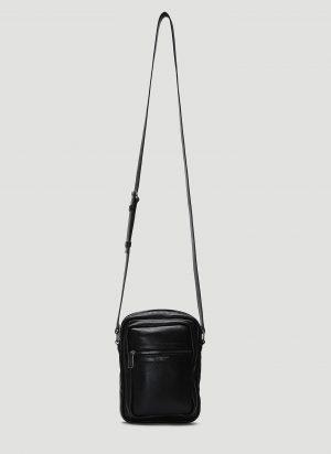 Saint Laurent Brad Pouch Cross Body Bag in Black size One Size