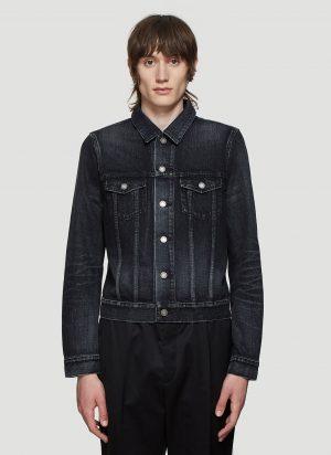 Saint Laurent Denim Jacket in Black size XL