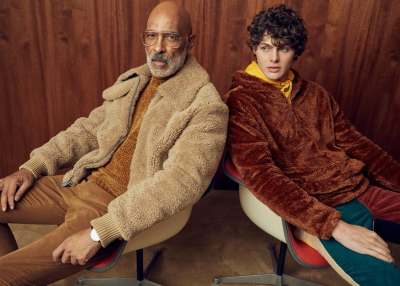 Lono, Darwin & Gabriel Model Sherpa & Velour for Simons