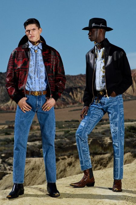 Versace Goes Western with Cruise '20 Collection