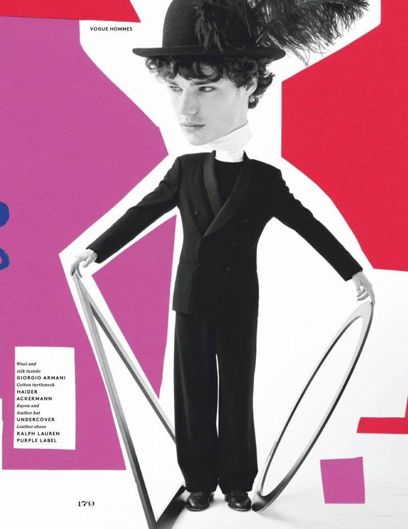 Parker, Babacar & Fernando Get Artsy for Vogue Hommes Paris