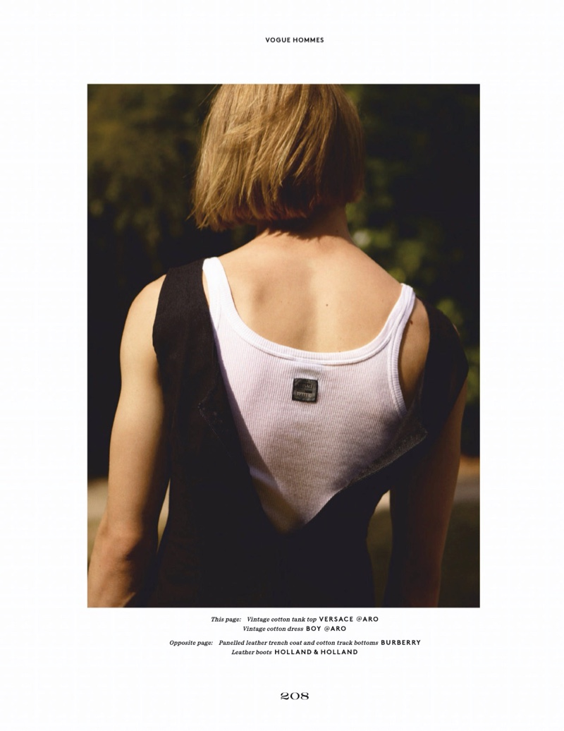 Les Innocents: Martijn & Tomass for Vogue Hommes Paris