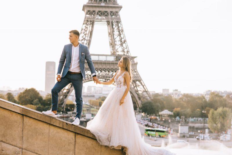 Wedding Couple Paris