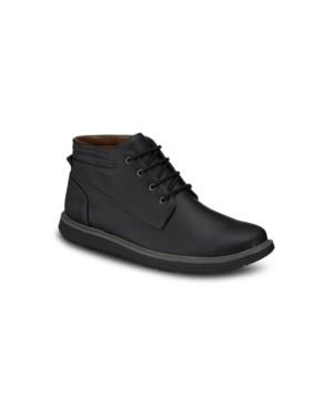 Aston Marc Men's Round Toe Fashion Chukka Boots Men's Shoes