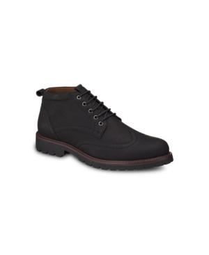 Aston Marc Men's Wingtip Chukka Boots Men's Shoes