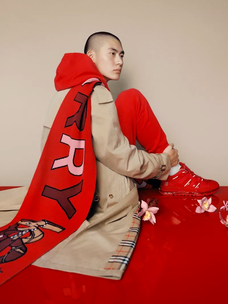 Burberry taps Liang Jiyuan to front its 2020 Chinese New Year's campaign.