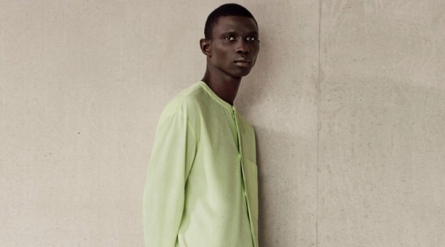 Fernando Cabral dons an oversized cotton tunic and lightweight trousers from COS.