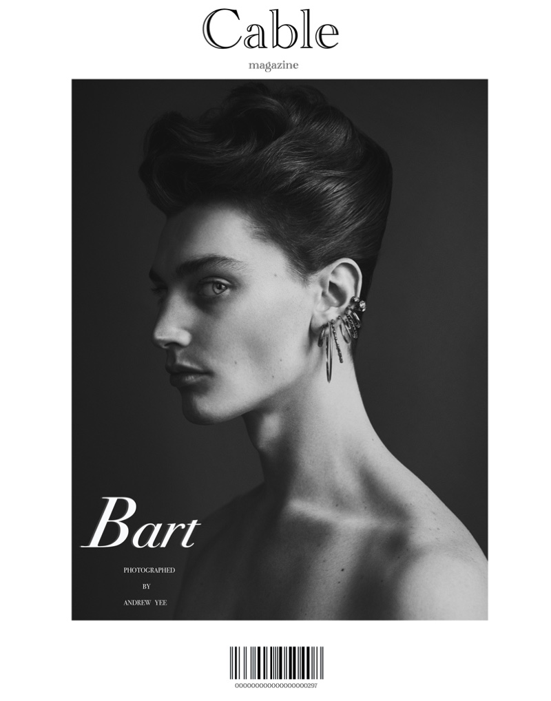 Robbie, Bart-Jan & Jass Serve Up Beauty Looks for Cable Magazine