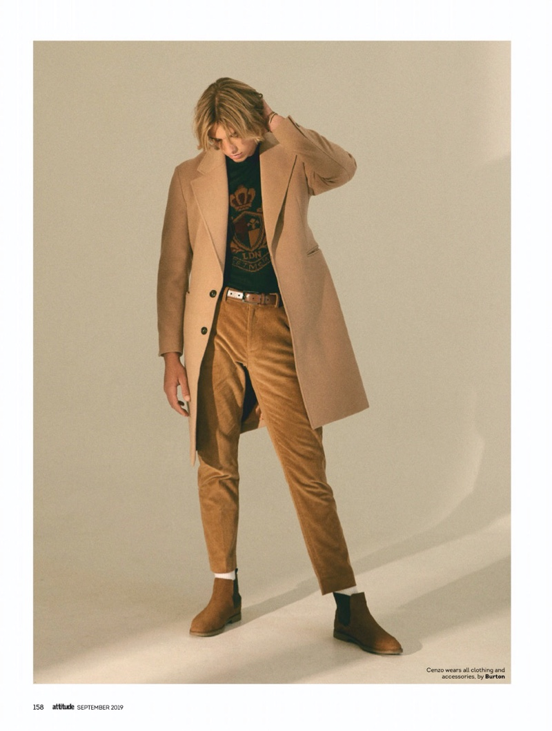 Deeper Shade of Brown: Cenzo for Attitude
