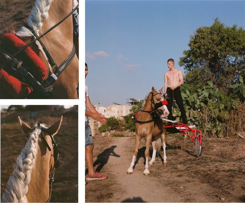 Connor Newall Takes to Malta for L'Officiel Hommes Poland