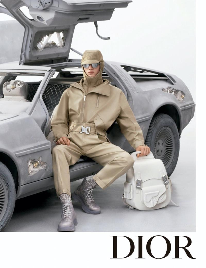 Braien Vaiksaar stars in Dior Men's spring-summer 2020 campaign.