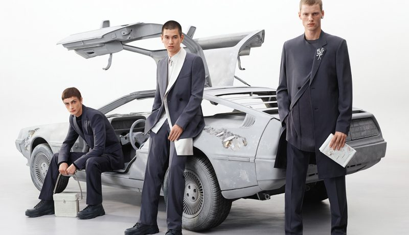 Liam Marquant, Kohei Takabatake, and Braien Vaiksaar appear in Dior Men's spring-summer 2020 campaign.