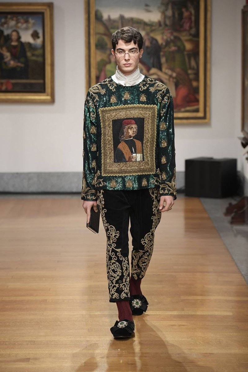 Dolce & Gabbana Alta Sartoria Channels Regal Booksmart Style with Pre-Fall '20 Collection