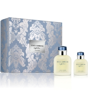 Dolce & Gabbana 2-Pc. Light Blue Pour Homme Jumbo Gift Set