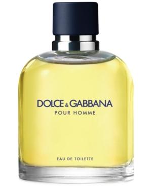 Dolce & Gabbana Men's Pour Homme Eau de Toilette Spray, 2.5 oz.