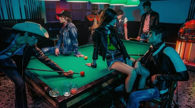 Dsquared2 unveils its resort 2020 campaign.