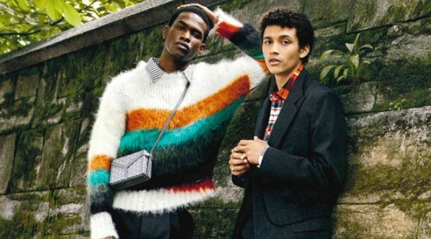 Jackson & Salomon Model Chic Street Style for Esquire Big Black Book