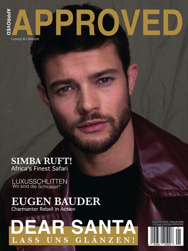 Eugen Bauder Stars in Approved Cover Story